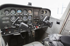 Part of cessna 172 plane Stock Photos
