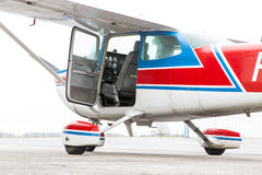 Part of cessna 172 plane Royalty Free Stock Image