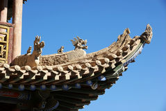 Part of chinese ancient building Stock Photography