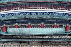 Part of Chinese architecture. In China Royalty Free Stock Photo
