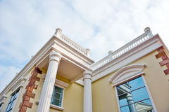 Part of Chinese building Royalty Free Stock Photography