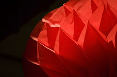 Part of chinese lantern Stock Photography
