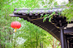 A part of Chinese style roof Stock Photo