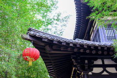 A part of Chinese style roof Stock Images