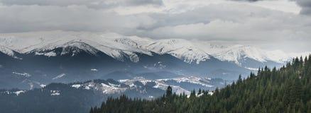 Part of Chornohora ridge. Spring. Royalty Free Stock Photography
