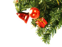 Part of Christmas tree Royalty Free Stock Photo