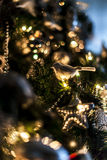 Part of christmas tree Royalty Free Stock Images