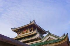 Part of Chua Ba pagoda Royalty Free Stock Photo
