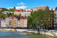 Part of the city of Lyon Royalty Free Stock Image