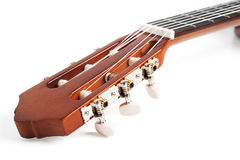 Part of classic guitar Stock Photography