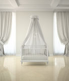 Part of classic interior the children's room Royalty Free Stock Photography