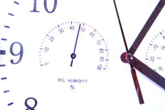Part of the clock face Royalty Free Stock Photography