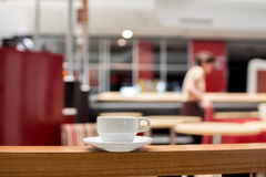 Part of coffee shop Royalty Free Stock Images