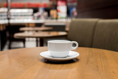 Part of coffee shop Stock Image