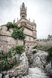 Part of Colomares Castle. Benalmadena town. Spain Stock Photography