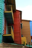 Colorful House. Part of a colorful structure in Patagonia, South America Royalty Free Stock Photo