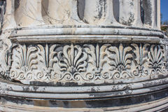 Part of the column (fragment) Royalty Free Stock Photos