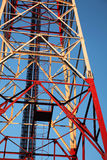 Part of communication tower Stock Photography