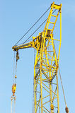 Part of construction crane Stock Photo