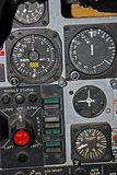 Part of Control Panel for Fighter Aircraft Royalty Free Stock Photography