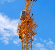 Part of the crane Stock Photography