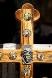 Jesus on a Cross Royalty Free Stock Images