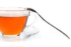 Part cup of tea Stock Images