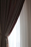 Part of curtain Stock Photo