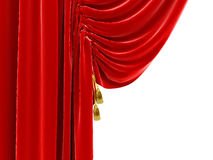 Part of curtains Royalty Free Stock Image