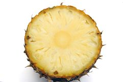 Part d'ananas Photographie stock