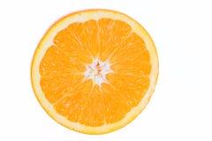 part d'orange de fruit Photographie stock libre de droits