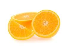 Part d'orange fraîche Images stock