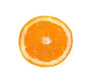 Part d'une orange. images stock