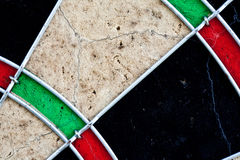 Part of dartboard Stock Images