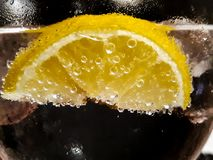 Part de citron Photos stock