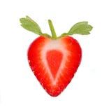 Part de fraise Images libres de droits