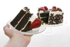 Part de gâteau images libres de droits