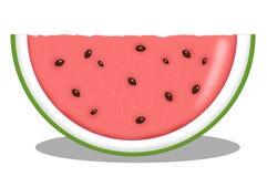 Part de melon Photos stock