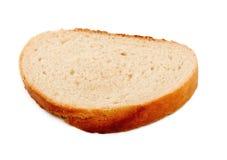 Part de pain blanc Photo libre de droits