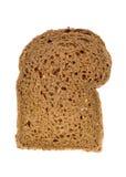 Part de pain brun Photographie stock libre de droits