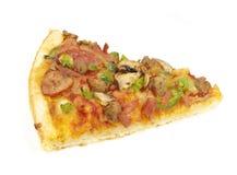 Part de pizza photo stock