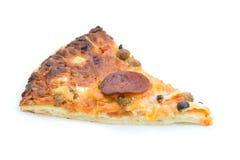 Part de pizza. Photographie stock libre de droits