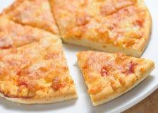 Part de pizza Image libre de droits