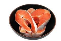 part de saumons de paraboloïde images stock