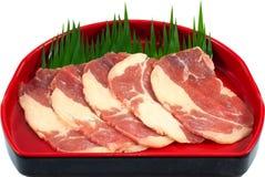 Part de viande crue Photo stock