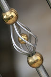 The part of decoration. At the handrail,its decorate so beauty and luxury Royalty Free Stock Images
