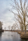 Part of the delta of river Evros, Greece Stock Image
