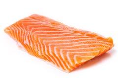 Part des saumons crus photo libre de droits