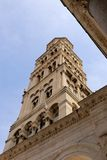Part of Diocletian`s Palace, Split, Croatia stock photo