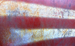 Part of dirty old rusted surface. Multicolor metal textures. Royalty Free Stock Photo
